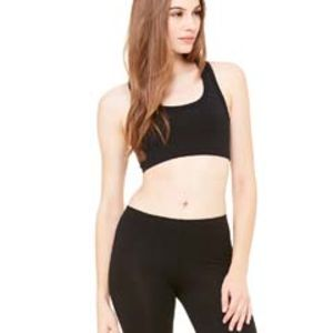 970 Bella+Canvas Ladies' Nylon/Spandex Sports Bra Thumbnail